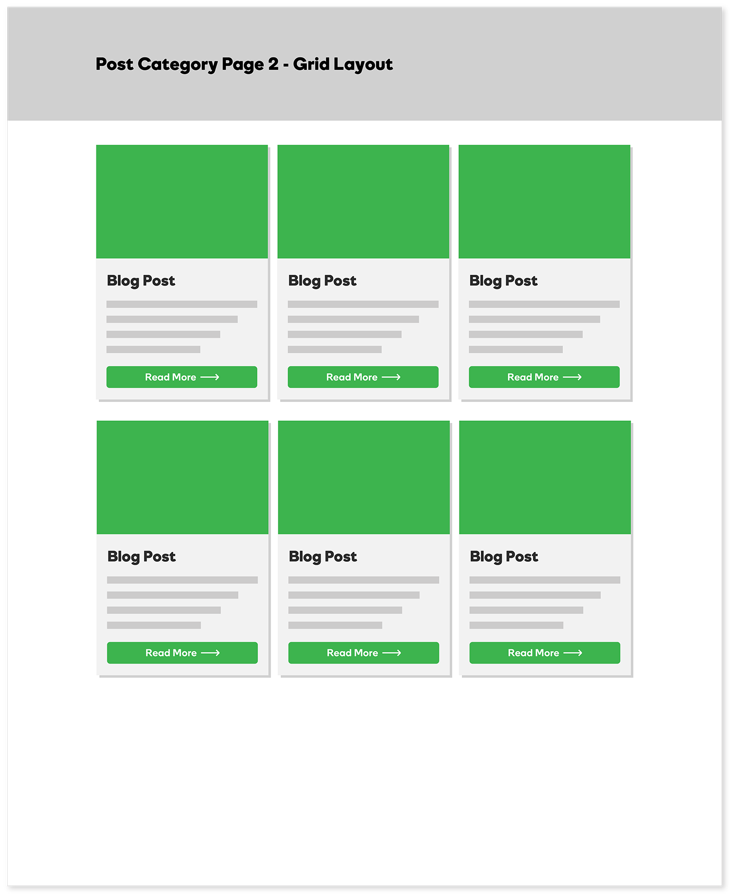 Post Category Page - Grid